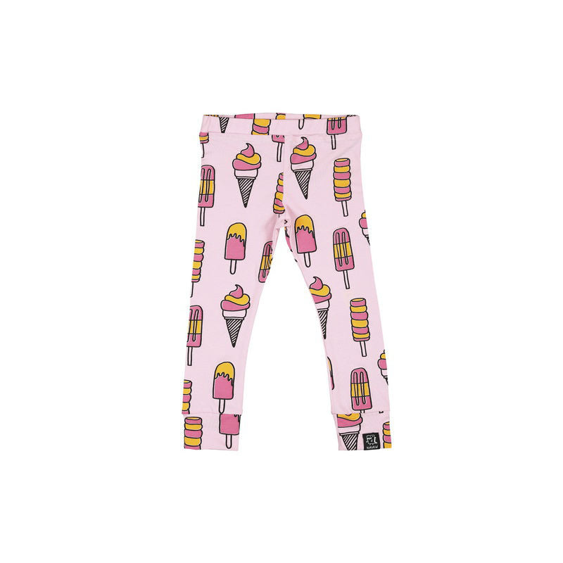 Kukukid Leggings Pale Pink Ice cream