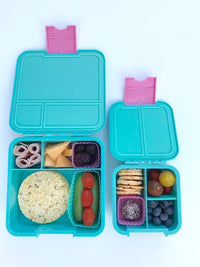 Little Lunch Box Co Bento Cup 3 Pack Square – Light Blue