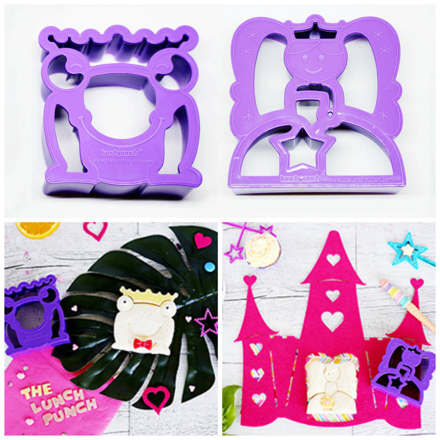 "LUNCH PUNCH ""FAIRYTALES"" SANDWICH CUTTERS (SET OF 2)"