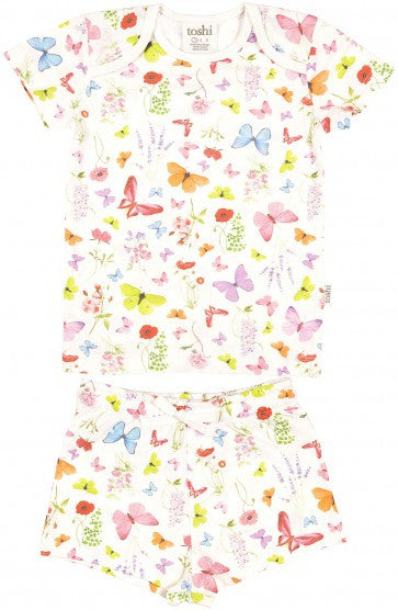 Toshi Pyjamas Short Sleeve Butterfly