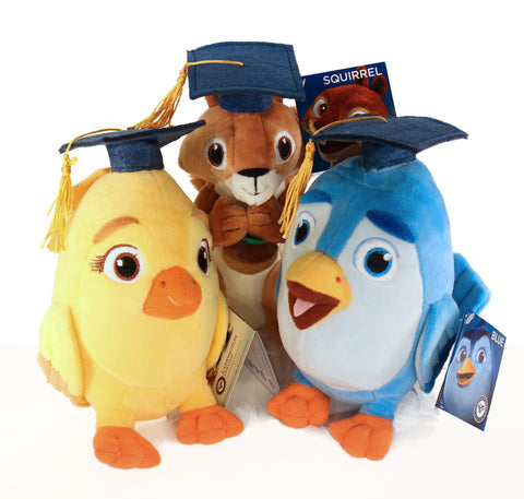 Graduation Plushie Set