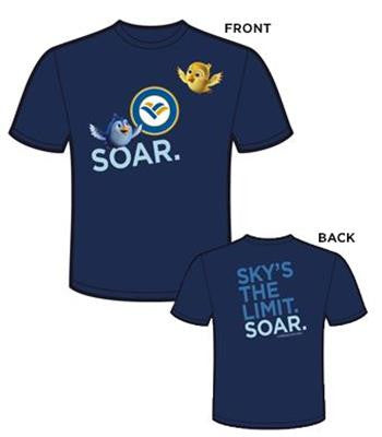 Blue & Goldie Soar T-Shirt