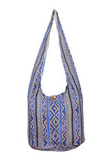Avarada Cotton Hippie Hobo Sling Crossbody Bag Bohemian Bag