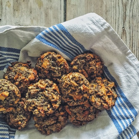 Apple, Flax & Chia Muffins