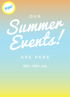 Summer Events Cover