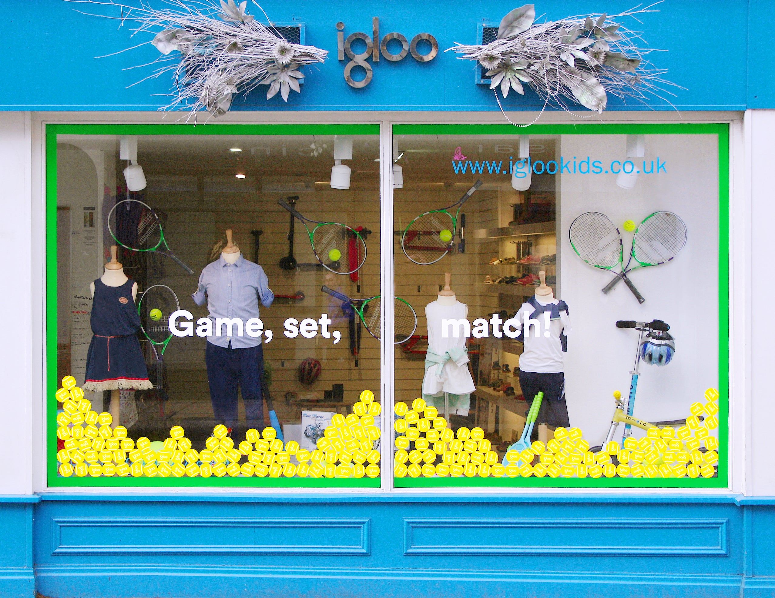 Igloo Wimbledon Tennis Window Competition Entry
