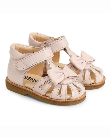10fb9ee6c93f Sale ANGULUS SANDAL WITH A BOW AND VELCRO