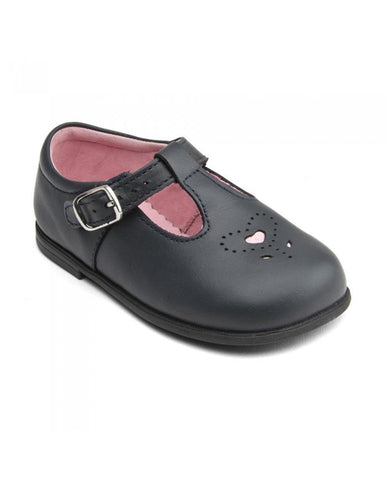 BUBBLE LEATHER GIRLS BUCKLE FIRST WALKING SHOES