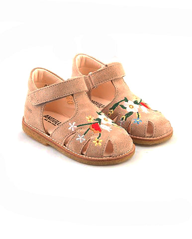 STARTER SANDAL WITH EMBROIDERY