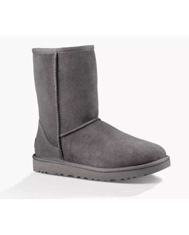 UGG CLASSIC SHORT GREY BOOT