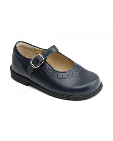 LOUISA ATLANTIC LEATHER GIRLS BUCKLE SCHOOL SHOES
