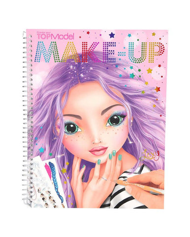 DEPESCHE TOPMODEL MAKE-UP COLOURING BOOK