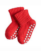 FALKE CATSPADS BABY COTTON SLIPPER SOCKS RED