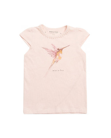 ANNALINE PALE DOGWOOD ROSE T-SHIRT