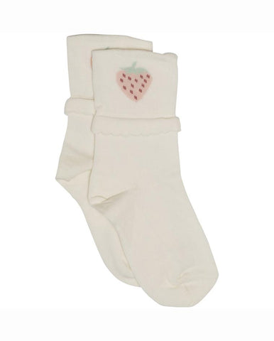 ELSIE SOCK, MK-ANTIQUE WHITE