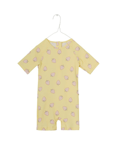 MINI A TURE GOLDIE SUIT, M-PALE BANANA