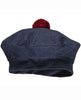 MARMAR ABOARD-DENIM JERSEY HAT WITH A POM-POM