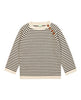 FUB SWEATER ECRU/BROWN