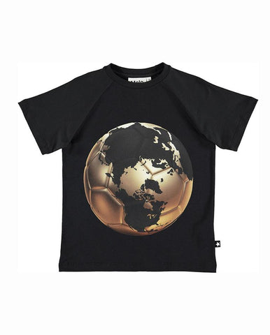 MOLO BOYS RAINES FOOTBALL WORLD MAP T-SHIRT