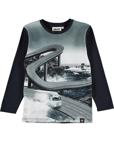 MOLO BOYS RAVENAL OCEAN ROAD T- SHIRT