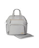 SKIP HOP CHANGING BAG MAINFRAME WIDE OPEN CHANGING BACKPACK  CEMENT
