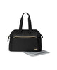 SKIP HOP CHANGING BAG MAINFRAME WIDE OPEN CHANGING SATCHEL BLACK