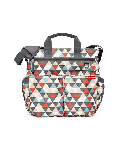SKIP HOP CHANGING BAG DUO SIGNATURE TRIANGLES