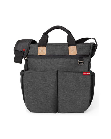 SKIP HOP CHANGING BAG DUO SIGNATURE SOFT SLATE