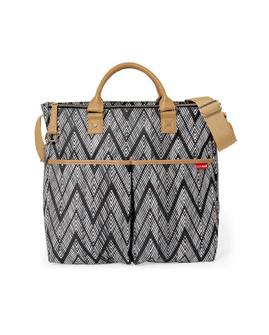 SKIP HOP CHANGING BAG DUO SPECIAL EDITION ZIG ZAG ZEBRA