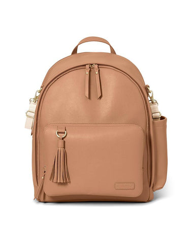 SKIP HOP CHANGING BAG GREENWICH SIMPLY CHIC CHANGING BACKPACK SADDLE