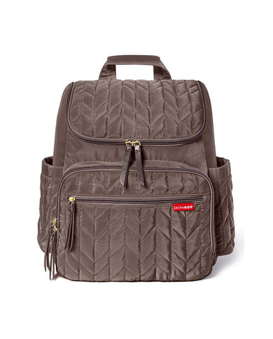 SKIP HOP CHANGING BAG NEW FORMA BACKPACK  LATTE
