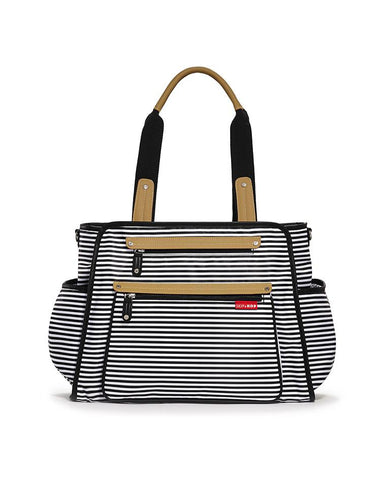 SKIP HOP CHANGING BAG GRAND CENTRAL TAKE-IT-ALL BLACK & WHITE STRIPE