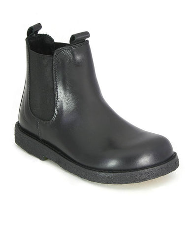 ANGULUS CHELSEA BOOT BLACK WIDE