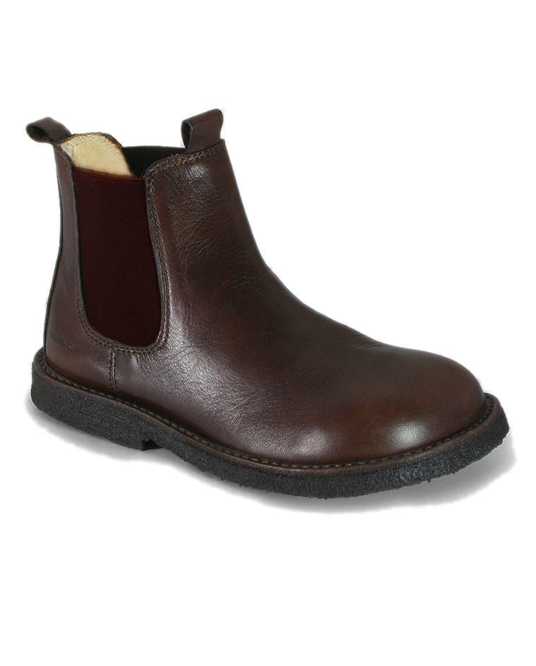 ANGULUS CHELSEA BOOT BROWN CREAM INSIDE