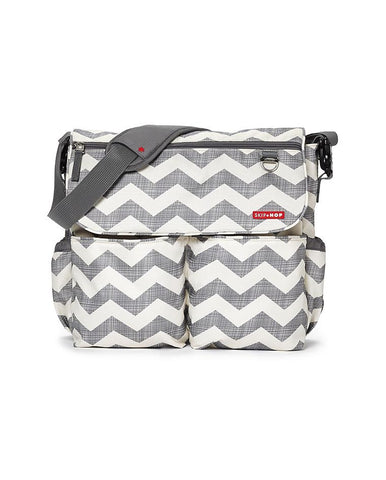 SKIP HOP CHANGING BAG DASH SIGNATURE CHEVRON
