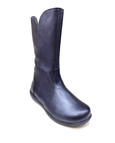 PRIMIGI VITELLO PERLATO-BLUE GIRLS BOOTS
