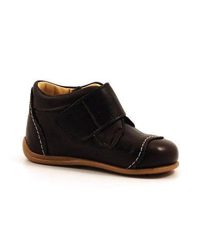 ANGULUS BOYS SINGLE VELCRO BROWN