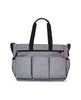 SKIP HOP CHANGING BAG DUO DOUBLE SIGNATURE HEATHER GREY