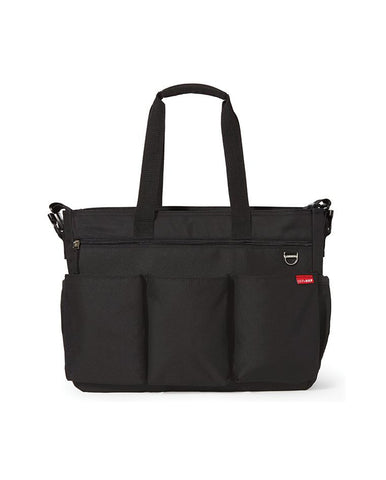 SKIP HOP CHANGING BAG DUO DOUBLE SIGNATURE BLACK
