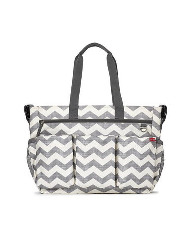 SKIP HOP CHANGING BAG DUO DOUBLE SIGNATURE CHEVRON