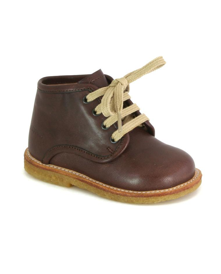 ANGULUS LACE-UP SHOE BROWN