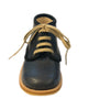 ANGULUS LACE-UP DARK BLUE SUEDE DETAIL