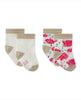 SET OF 2 PAIRS OF BABY GIRL'S SOCKS
