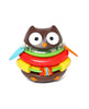 SKIP HOP EXPLORE & MORE DEVELOPMENTAL TOYS ROCKING OWL STACKER