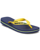 HAVAIANAS BRASIL LOGO NAVY BLUE/CITRUS YELLOW