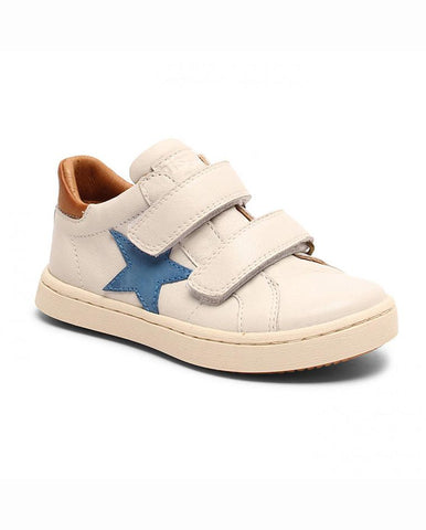 BISGAARD VELCRO SHOES WHITE