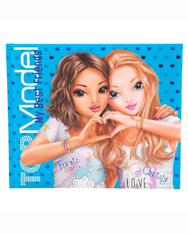 TOPModel Friendship Book Blue