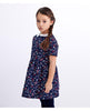 PETIT BATEAU GIRL'S SHORT SLEEVED DRESS