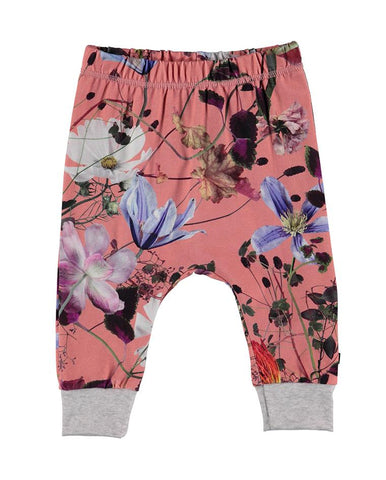 SIMONE SOFT PANTS FLOWERS OF THE WORLD
