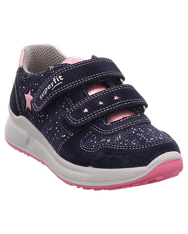 NAVY SNEAKERS PINK STAR